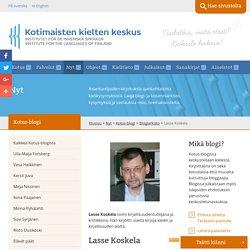 Ihme kieli toi suomi - Kotimaisten kielten keskus