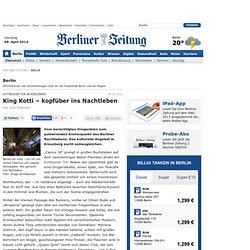 Kottbusser Tor in Kreuzberg: King Kotti – kopfüber ins Nachtleben