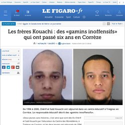 Les frères Kouachi : des «gamins inoffensifs» qui ont passé six ans en Corrèze