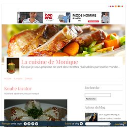 Koubé tarator - La cuisine de Monique