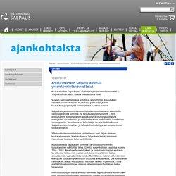 10.8. Koulutuskeskus Salpaus aloittaa yhteistoimintaneuvottelut - Koulutuskeskus Salpaus