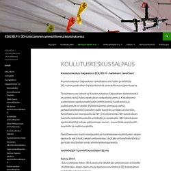 EDU3D.FI / 3D-tulostaminen ammatillisessa koulutuksessa