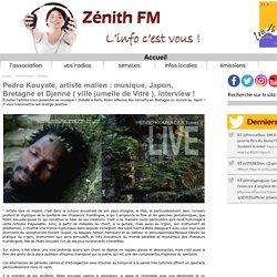 Pedro Kouyaté, artiste malien : musique, Japon, Bretagne et Djenné ( ville jumelle de Vitré ), interview !