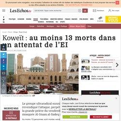 Koweït : au moins 13 morts dans un attentat de l'EI, Afrique - Moyen Orient