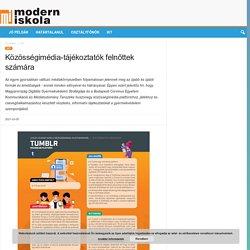 Közösségimédia-tájékoztatók felnőttek számára – Modern Iskola