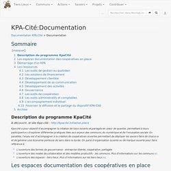 KPA-Cité:Documentation — Movilab.org