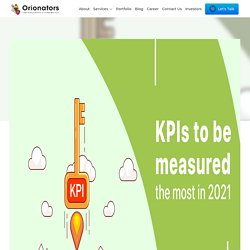 KPIs to be measured the most in 2021