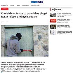 Poland shoplifting / Kradież sklepowa w Polsce (