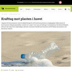 Krafttag mot plasten i havet