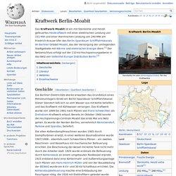 Kraftwerk Berlin-Moabit
