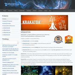Krakatoa - Thinkbox Software