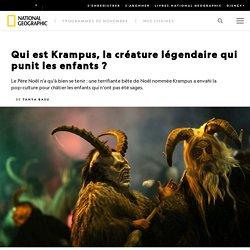 Qui est Krampus, la créature légendaire qui punit les enfants ?