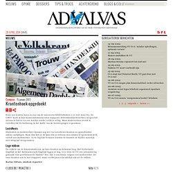 advalvas: Krantenhoek opgedoekt