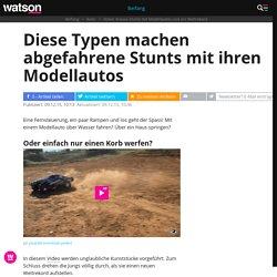 Video: Krasse Stunts mit Modellautos und ein Weltrekord