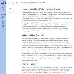 Where to buy Kratom? : Home: blog