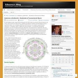 Anderson y Krathwohl – Revisando la Taxonomía de Bloom