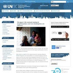 FN-rapport: ISIL eventuellt skyldig till krigsförbrytelser, brott mot mänskligheten och folkmord