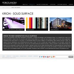 Krion - Solid Surface