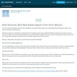 Ruth Krishnan: Best Real Estate Agent in the Inner Mission: ruthkrishnan1
