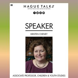 Kristen Cheney, Author at Hague Talks