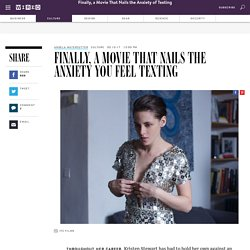 Kristen Stewart's New Movie 'Personal Shopper' Finally Nails the Anxiety You Feel Texting