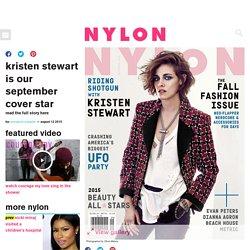 Kristen Stewart Nylon September 2015 Cover