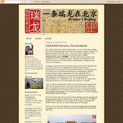 Krister i Beijing: augusti 2014