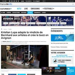 Kristian Lupa adapte la vindicte de Bernhard aux artistes et crée le buzz en Avignon