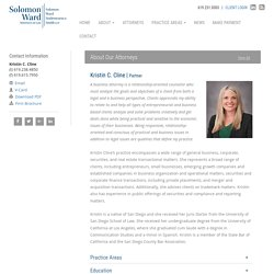 Kristin C. Cline - Solomon Ward Partner