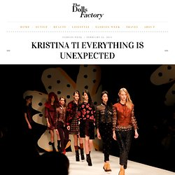 Kristina Ti Everything is Unexpected - The Dolls Factory