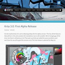 Krita 3.0: First Alpha Release