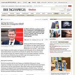 TV-Kritik zu Jauch und Precht: Macht der Computer blöd? - Medien