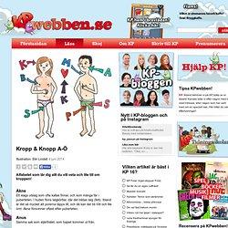 Kropp & Knopp A-Ö - KP-webben