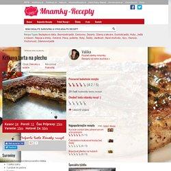 Krtkova torta na plechu - Mňamky-Recepty.sk