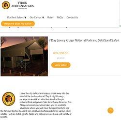 7 Day Kruger Safari Packages to Kruger Park
