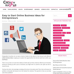 Easy to Start Online Business Ideas in 2020
