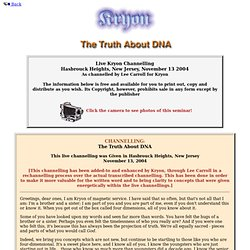 The Truth About DNA - 2004