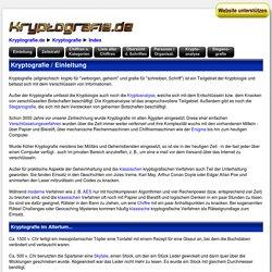Kryptografie / Einleitung
