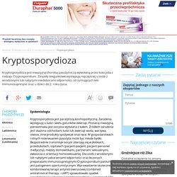 Kryptosporydioza