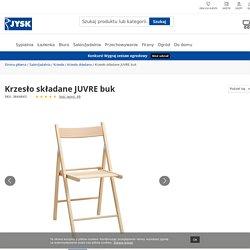 Krzesło składane JUVRE buk