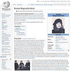 Ksenia Bogouslavskaïa