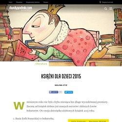 Książki dla dzieci 2015