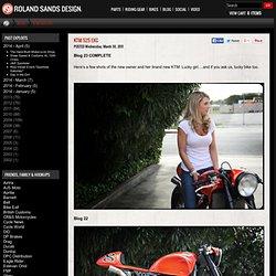 KTM 525 EXC | Roland Sands Design