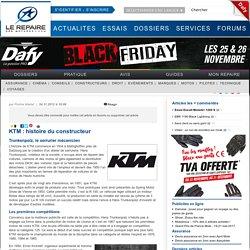 KTM : histoire du constructeur