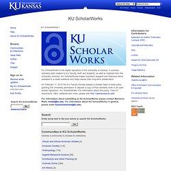 ScholarWorks: Home