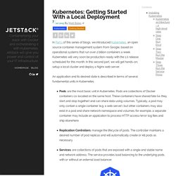 Kubernetes: Getting Started With a Local Deployment // Jetstack Blog