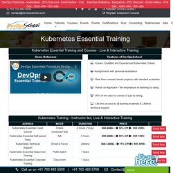 Kubernetes Essential Course