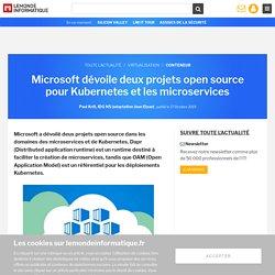 Microsoft dévoile deux projets open source pour Kubernetes et les microservices