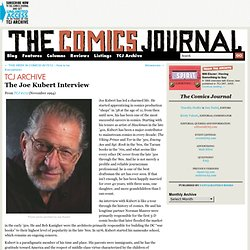 The Joe Kubert Interview