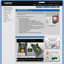 Kubotek 3D - CAM for KeyCreator